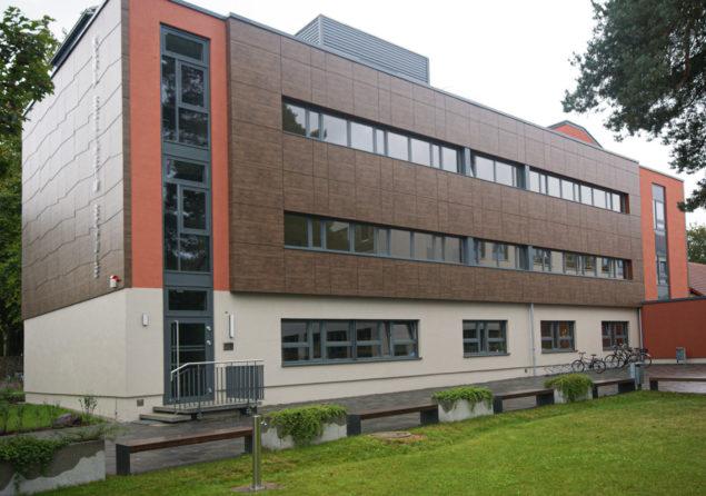 Aluminium-Fassade