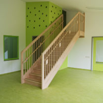 Detail Innenraum - Kita Wünsdorf